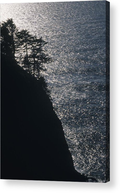 Oregon Acrylic Print featuring the photograph Oregon Silhouette by Lynard Stroud