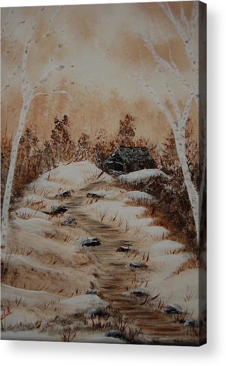 Acrylics Acrylic Print featuring the painting Pathway To Freedom by Laurie Kidd