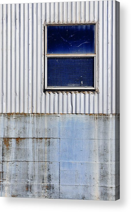 Skip Hunt Acrylic Print featuring the photograph Powder Blu by Skip Hunt