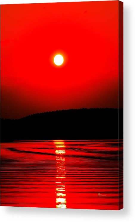 Emotion Acrylic Print featuring the photograph Red Power by Max Steinwald