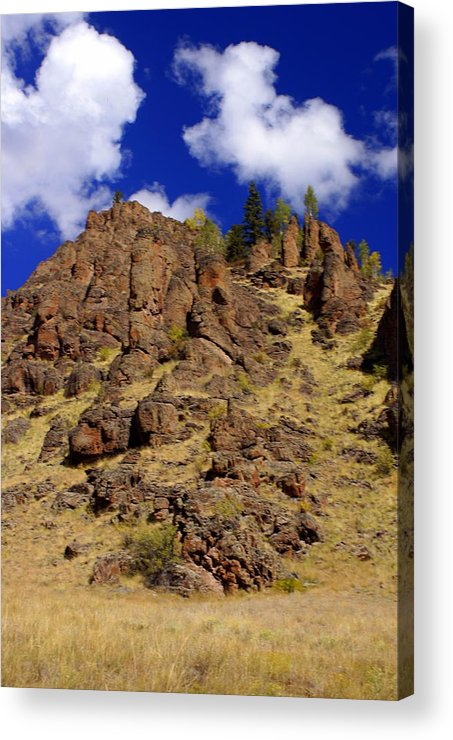 Colorado Acrylic Print featuring the photograph Rocky Butte by Marty Koch