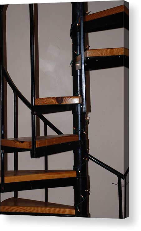 Stairs Acrylic Print featuring the photograph Spiral Stairs by Rob Hans