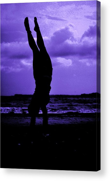 Sea Acrylic Print featuring the photograph Stand By Sea II by Trudi Southerland