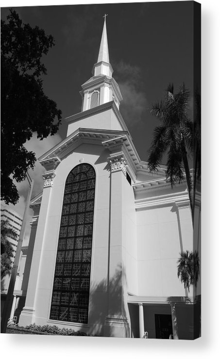 Architecture Acrylic Print featuring the photograph Thats Church by Rob Hans