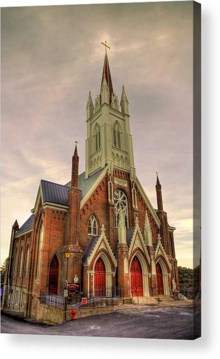 Street Acrylic Print featuring the photograph The Gospel by Bryan Steffy