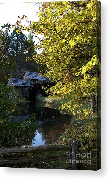 Culture Acrylic Print featuring the photograph The Mill by Skip Willits