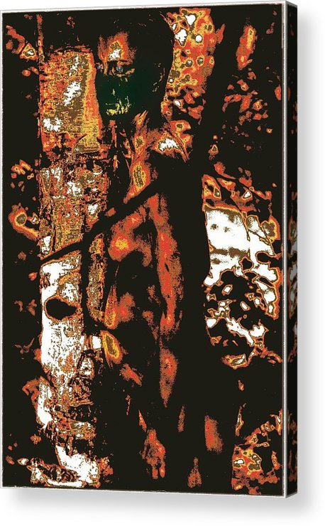Wall D�cor Acrylic Print featuring the photograph Tree Woman / 2 by Jean-Marie Bottequin