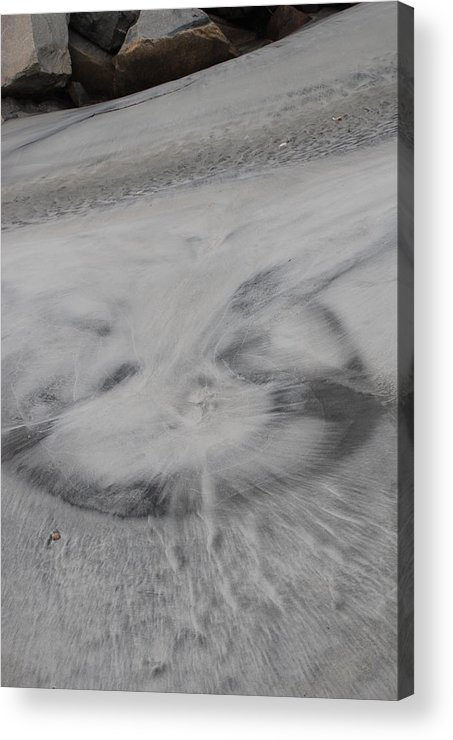 Sand Art Acrylic Print featuring the photograph What Cha See by Renee Holder