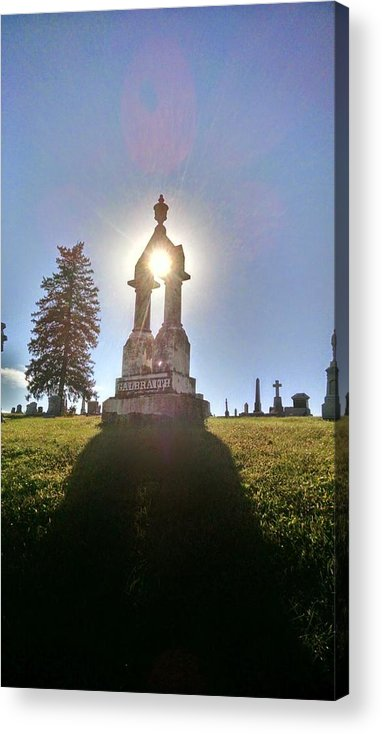 Religious Acrylic Print featuring the photograph Through The Stone by Dustin Soph
