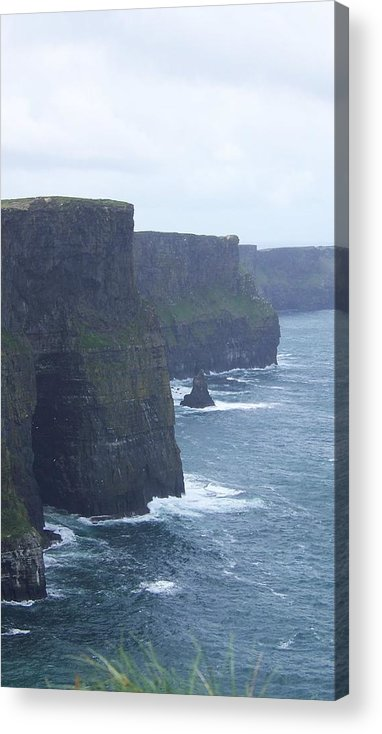 Ireland Acrylic Print featuring the photograph Clifts Of Moher by Cathryn Brown