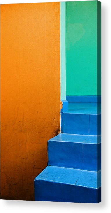 Oaxaca Acrylic Print featuring the photograph Creamsicle by Skip Hunt