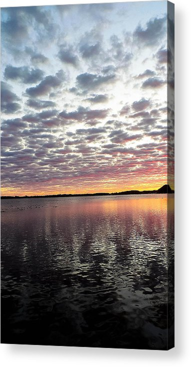 Lake Acrylic Print featuring the photograph Minnesota Sunrise by Tracy Welter