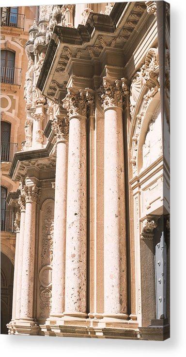 Montserrat Acrylic Print featuring the photograph Montserrat Monastery by Jose Luis Agudo