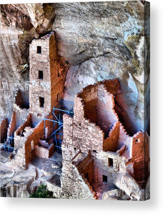 Ruins Acrylic Print featuring the photograph Ruins by Dan Sproul
