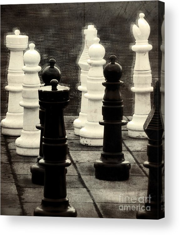 Chess Acrylic Print featuring the photograph Your Move by Colleen Kammerer