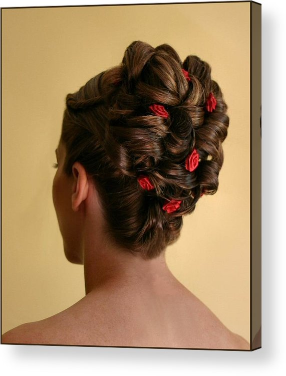Hairstyle Acrylic Print featuring the photograph Rosettes by Kristin Elmquist