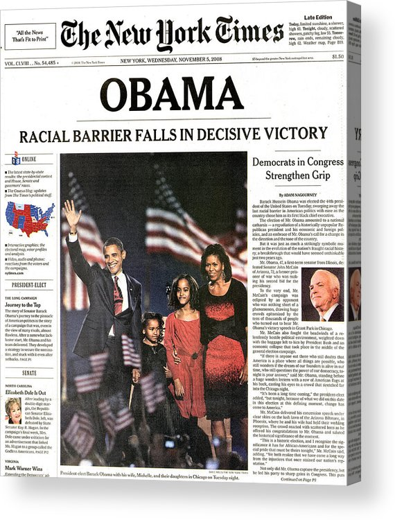 2008 Acrylic Print featuring the photograph Presidential Campaign, 2008 by Granger