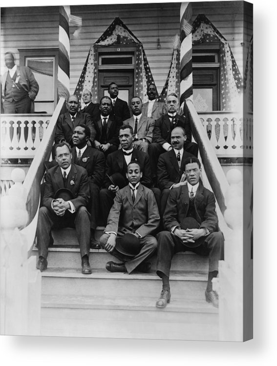History Acrylic Print featuring the photograph Booker T. Washington 1856-1915, Second by Everett