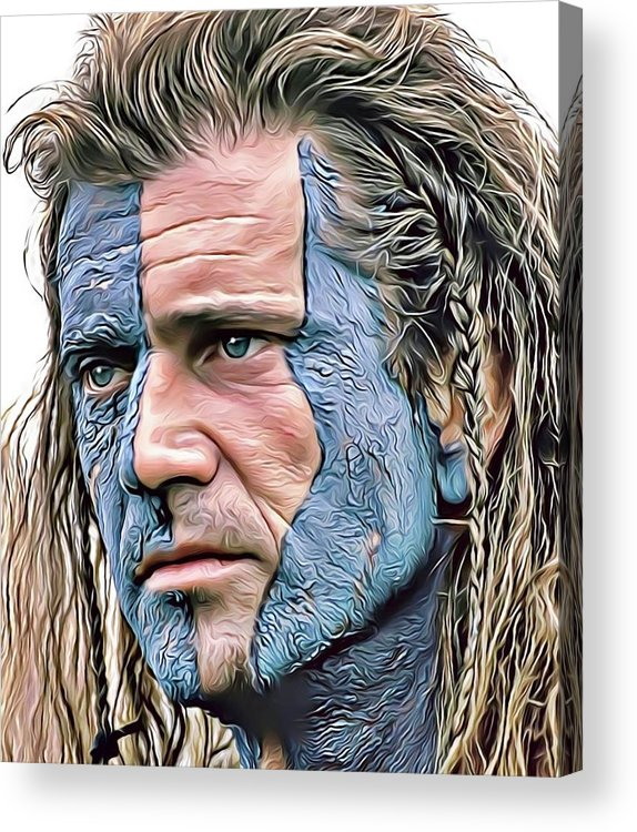 Mel Gibson by Russ Carts