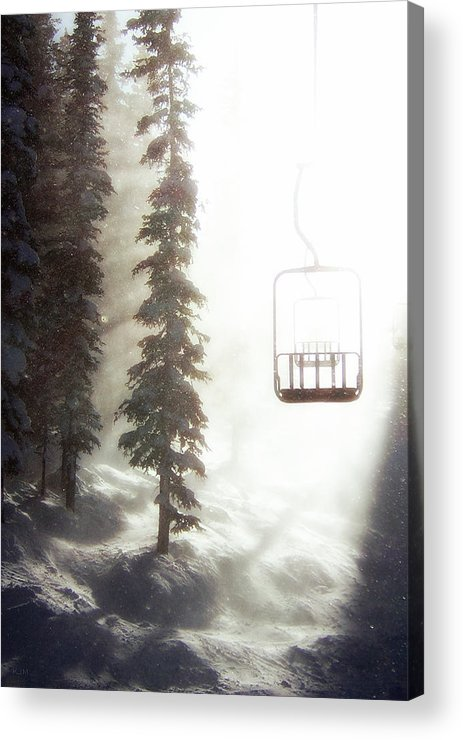 Alpine Acrylic Print featuring the photograph Chairway To Heaven by Kevin Munro