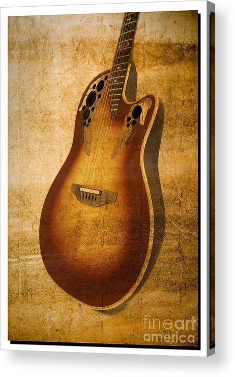 Guitar Acrylic Print featuring the photograph Guitar by Richard J Thompson