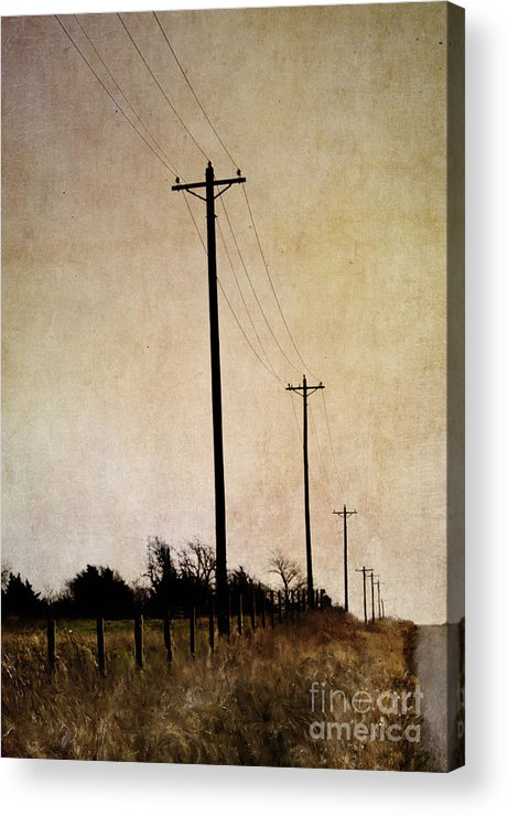Long Road Acrylic Print featuring the photograph Long Road by Elena Nosyreva