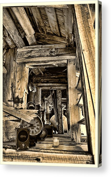 Colorado Acrylic Print featuring the photograph Old Rockers Attic by Greg Wells