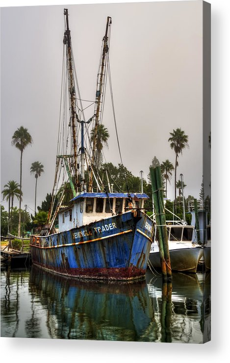 Boats Acrylic Print featuring the photograph Seminole Trader by Russ Burch