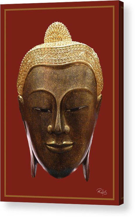 Buddha Acrylic Print featuring the photograph Buddha's Pleasure by Allan Rufus