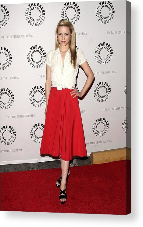 Dianna Agron Acrylic Print featuring the photograph Dianna Agron At Arrivals For Glee by Everett