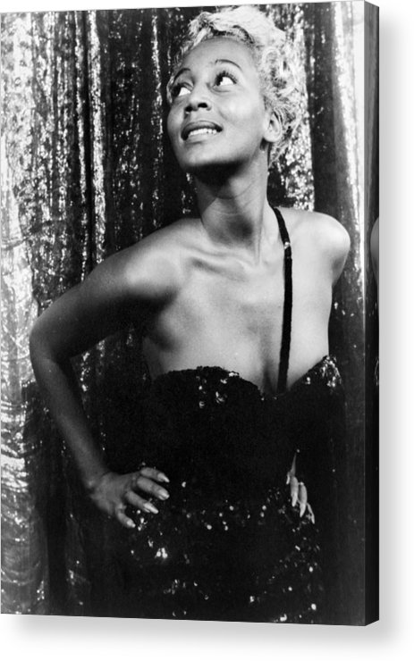 1953 Acrylic Print featuring the photograph Joyce Bryant, 1953 by Granger