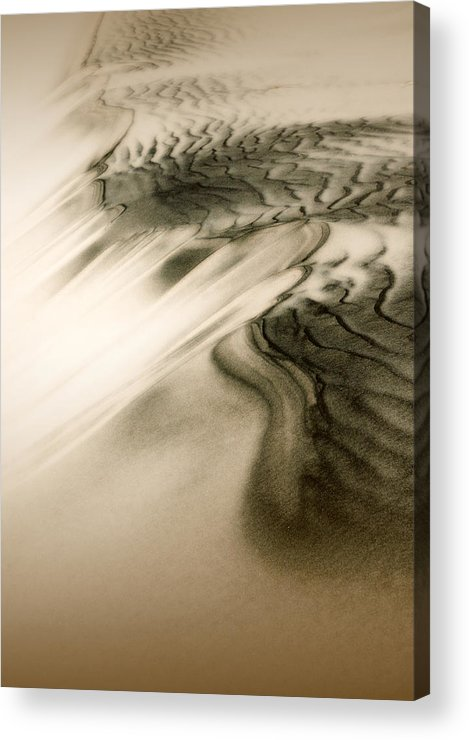 Kelso Dunes Acrylic Print featuring the photograph Kelso Dunes by Chris Brannen