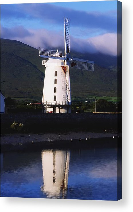 Blennerville Acrylic Print featuring the photograph Blennerville Windmill, Tralee, Co by The Irish Image Collection