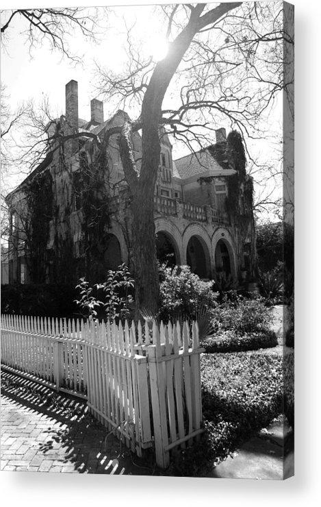 Architecture Acrylic Print featuring the photograph Corner House by Nina Fosdick