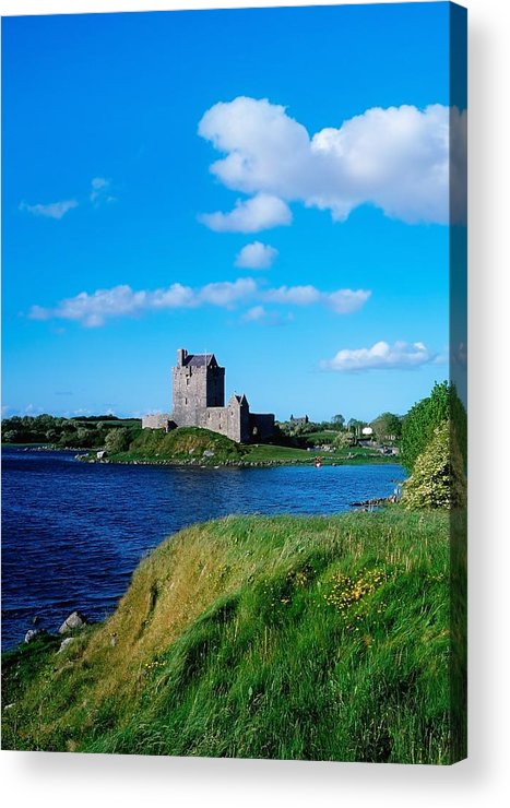 Architecture Acrylic Print featuring the photograph Dunguaire Castle, Co Galway, Ireland by The Irish Image Collection