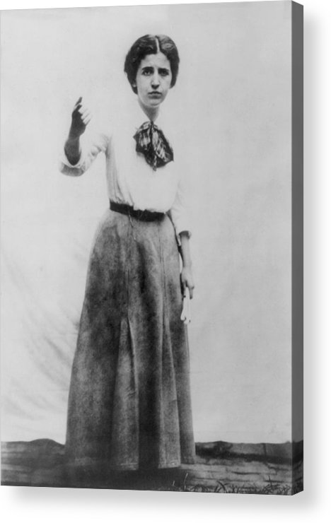 History Acrylic Print featuring the photograph Elizabeth Gurley Flynn 1890-1964, Labor by Everett