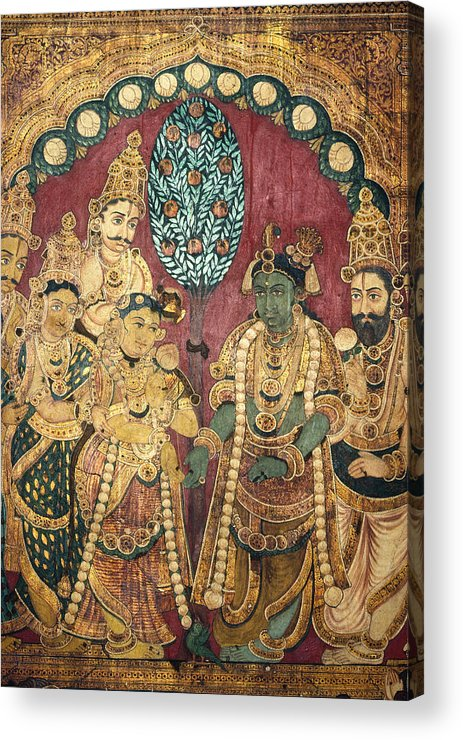 Asian Acrylic Print featuring the photograph Hindu Wedding Ceremony by Granger