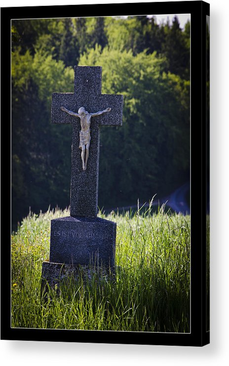 Peace Acrylic Print featuring the photograph It Is Accomplished by Axko Color de paraiso