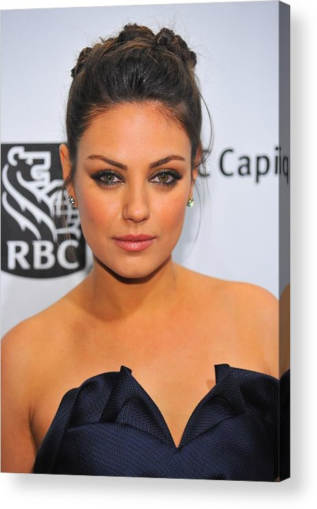 Mila Kunis Acrylic Print featuring the photograph Mila Kunis At Arrivals For Ifps 20th by Everett