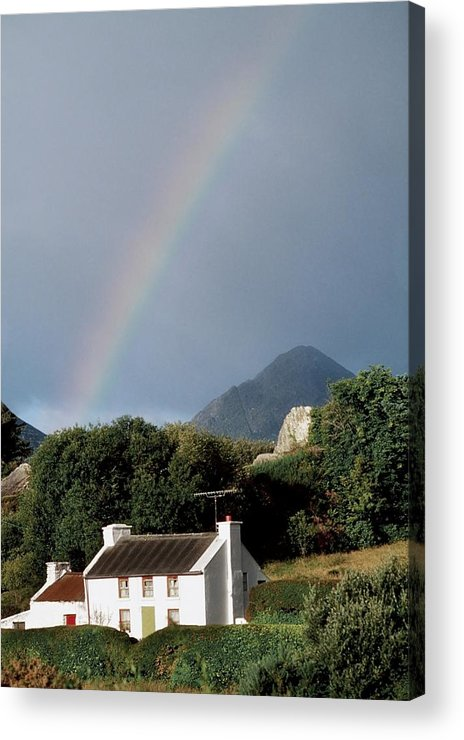 Day Acrylic Print featuring the photograph Sugarloaf Mountain, Glengarriff, Co by The Irish Image Collection