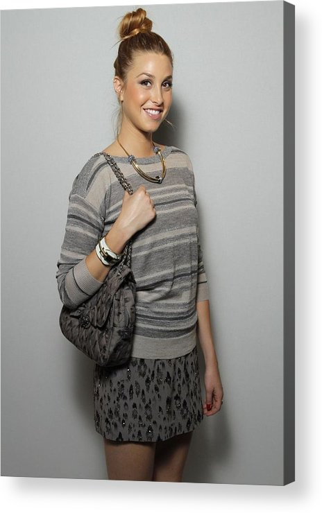 Whitney Port Acrylic Print featuring the photograph Whitney Port In Attendance For Rebecca by Everett