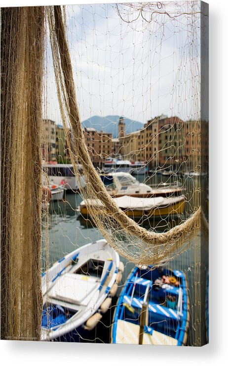 Italy Acrylic Print featuring the photograph Camogli 1 by Luigi Barbano BARBANO LLC