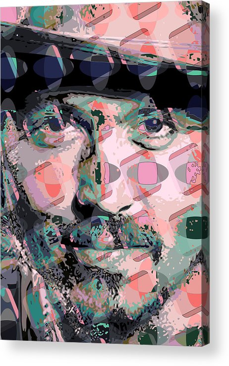 Acrylic Print featuring the digital art Depp1 by Scott Davis