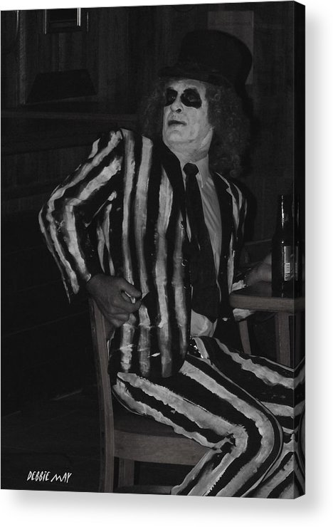 Beetle Juice Acrylic Print featuring the photograph Did I Just See A Ghost - Photosbydm by Debbie May