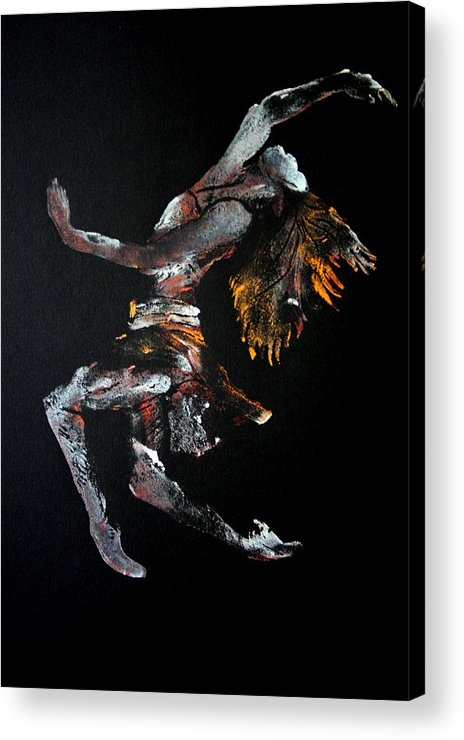 Dancer Acrylic Print featuring the painting Ecstasy by Ana Bikic