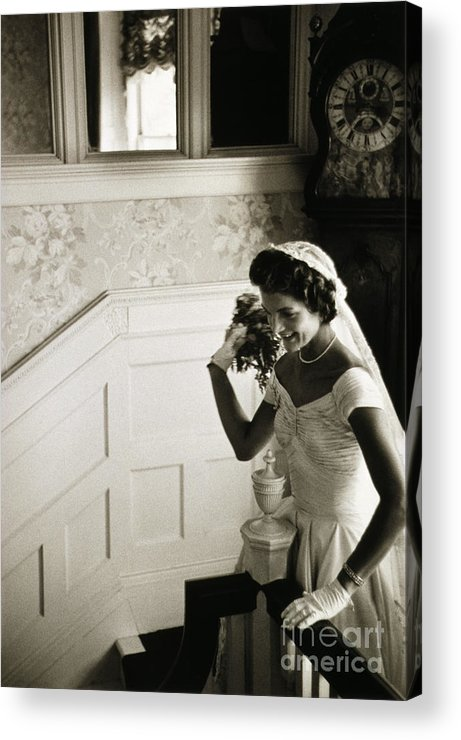 1953 Acrylic Print featuring the photograph Jacqueline Kennedy by Granger