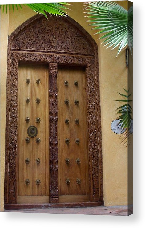Door Acrylic Print featuring the photograph Just A Door by James Johnstone
