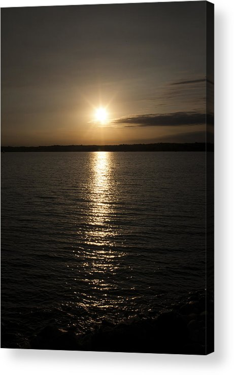 Lewis And Clark Lake Acrylic Print featuring the photograph Lewis And Clark Lake by Patrick Ziegler