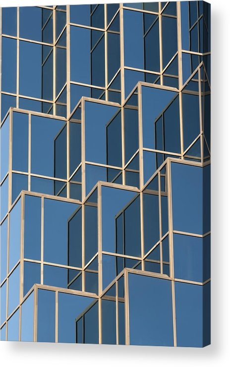 Reflections Acrylic Print featuring the photograph Little Boxes by Elisabeth Van Eyken