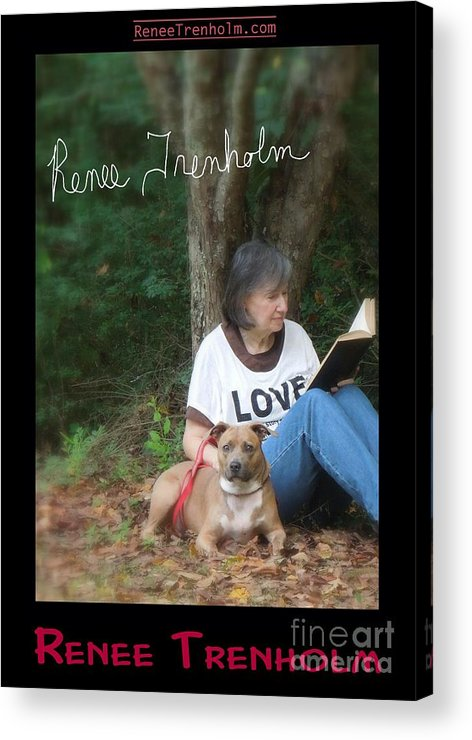 Autographed Acrylic Print featuring the photograph Renee Trenholm . Signed by Renee Trenholm